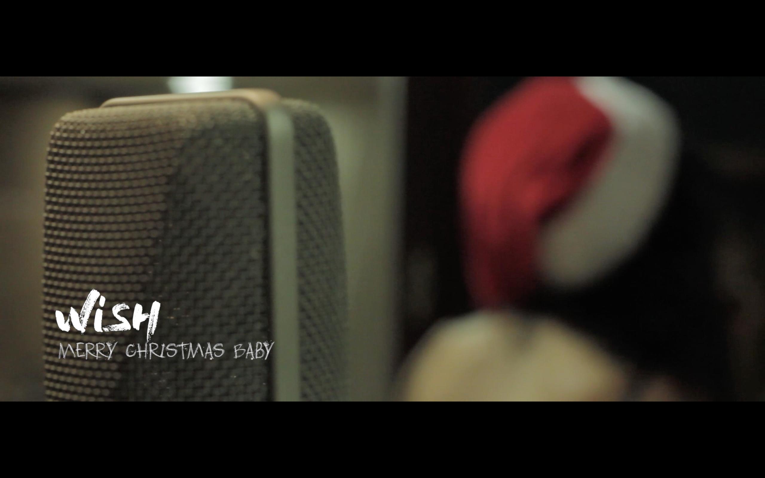 Gravació de la Nadala de Wish